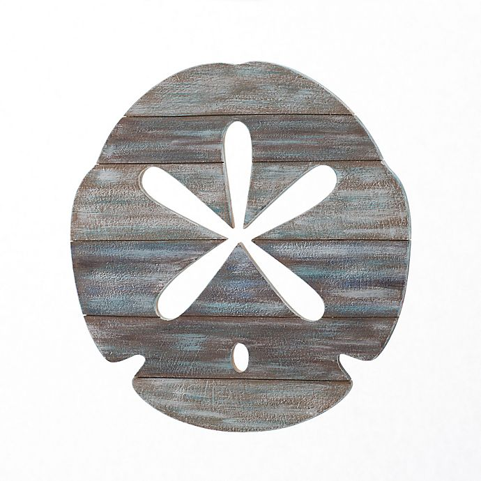 Alternate image 1 for Sand Dollar Slatwood Panel Wall Art in Weathered Ivory