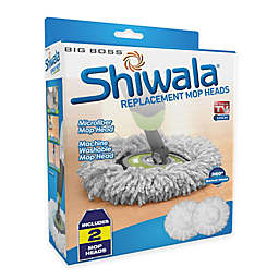 Big Boss™ Shiwala® Replacement Mop Heads (Set of 2)