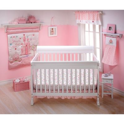 Disney 174 Princess Happily Ever After 3 Piece Crib Bedding