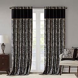 Madison Park Aubrey 2-Pack Rod Pocket Window Curtain Panels