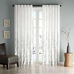 Madison Park Andora Rod Pocket/Back Tab Lined Window Curtain Panel
