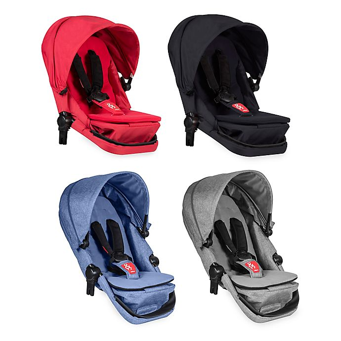Alternate image 1 for phil&teds® Voyager™ Stroller Double Kit (Second Seat)