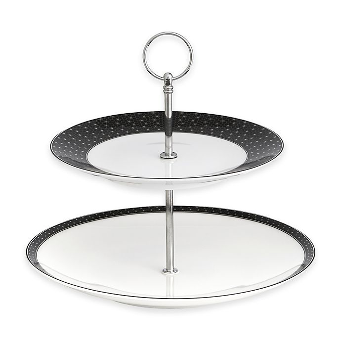 Auratic Octavin 2-Tier Cake Stand