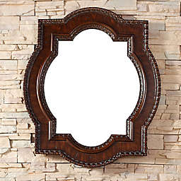 James Martin Furniture Castilian 35-Inch Mirror in Aged Cognac