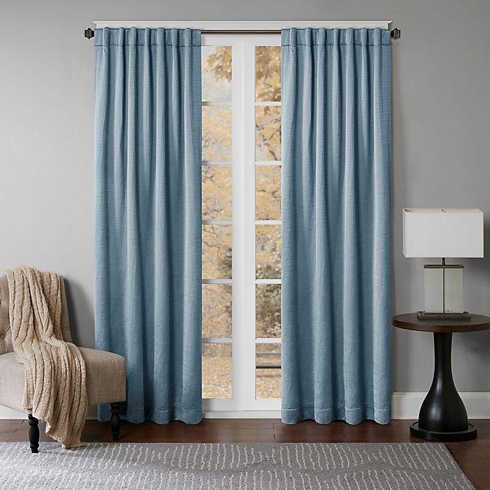 Alternate image 1 for Princeton Rod Pocket/Back Tab Window Curtain Panel