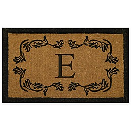 Nature by Geo Crafts Leaf Bordered 30-Inch x 48-Inch Letter \