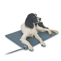 Deluxe Lectro-Kennel Heated Medium Dog Pad in Grey