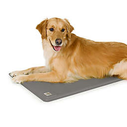 Deluxe Lectro-Kennel Heated Dog Pad in Grey