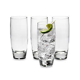 Luigi Bormioli Michelangelo Masterpiece Sparks Beverage Glasses (Set of 4)