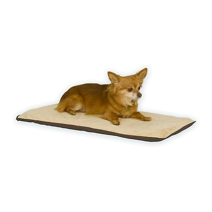 Alternate image 1 for Thermo-Pet Heated Pet Mat in Mocha/Tan