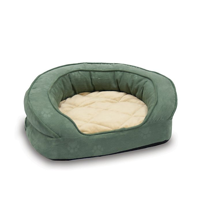 Alternate image 1 for Deluxe Ortho Bolster Large Pet Sleeper in Green