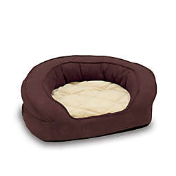 Deluxe Ortho Bolster XL Pet Sleeper in Eggplant