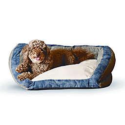 K&H Premium Logo Bolster Pet Bed