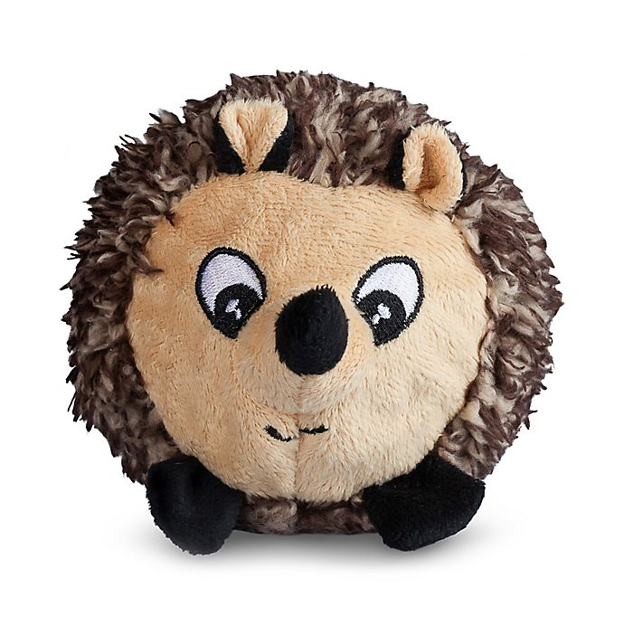 Alternate image 1 for Hedgehog Faball Dog Toy in Brown