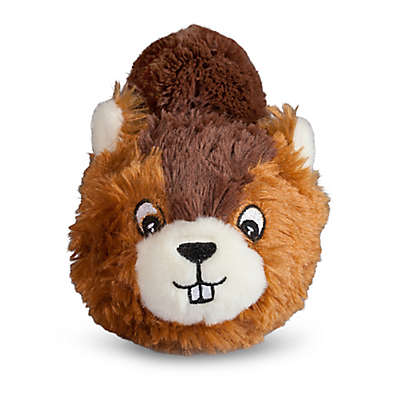 Beaver Faball Dog Toy in Brown
