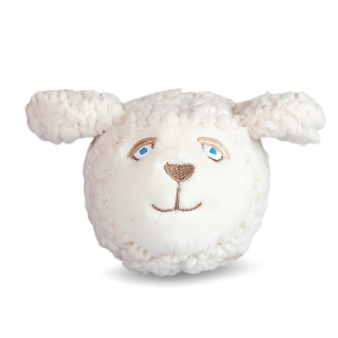 Alternate image 1 for Sheep Faball Dog Toy in White