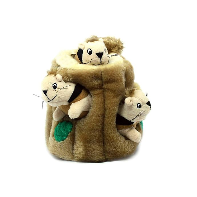 Alternate image 1 for Outward Hound® Hide A Squirrel® Dog Toy in Yellow/Green