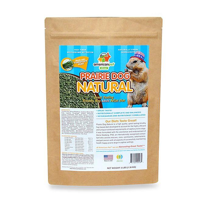 Alternate image 1 for 3 lb. Prairie Dog Natural Pellets
