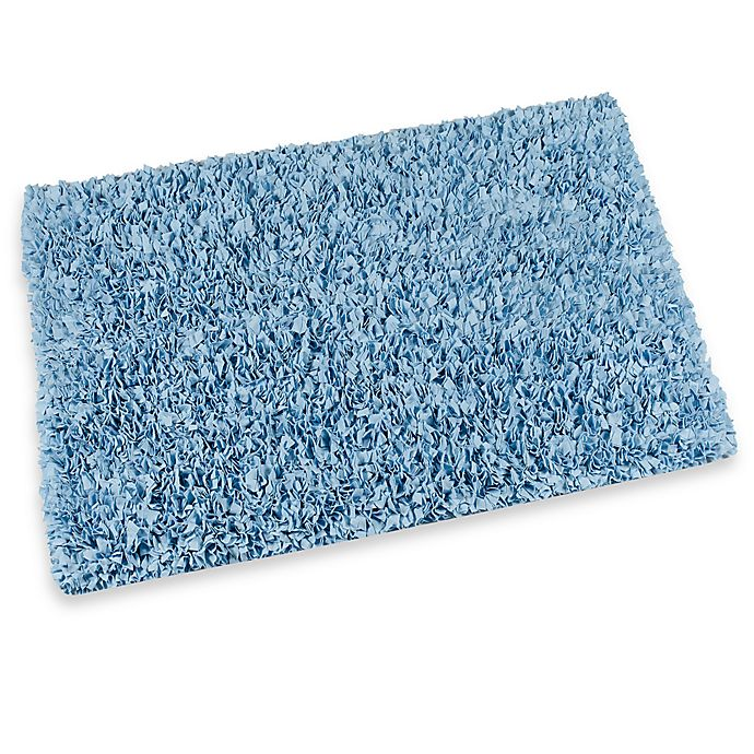Alternate image 1 for Raggy Shaggy Accent Rug in Light Blue