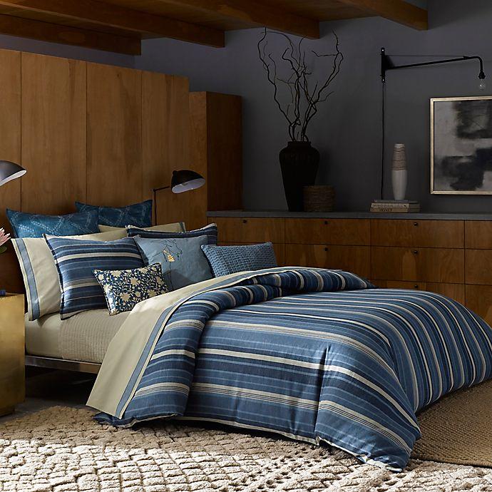 Alternate image 1 for ED Ellen DeGeneres Azur Stripe Pillow Sham