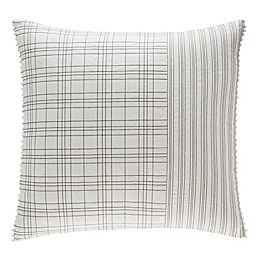 ED Ellen DeGeneres Greystone European Pillow Sham in White