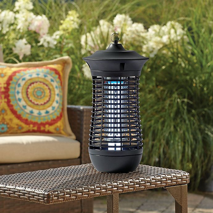Insect Zapper In Black Bed Bath Amp Beyond