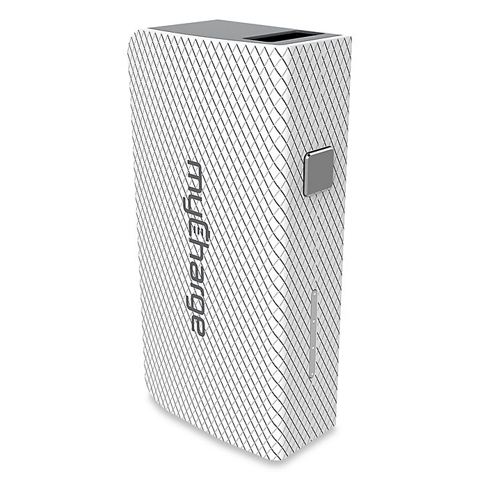 Alternate image 1 for myCharge® AmpMini 2000 mAh Portable USB Charger in White
