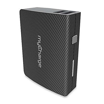 myCharge® AmpMax 6000 mAh Portable Power Bank in Black