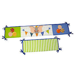 Disney® Dumbo 4-Piece Traditional Padded Crib Bumper Set