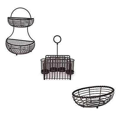 Gourmet Basics by Mikasa® Wire Rope Basket Collection