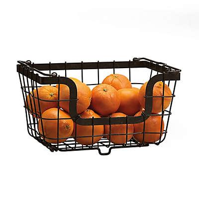 Mikasa® General Store Stacking Organization Basket in Black