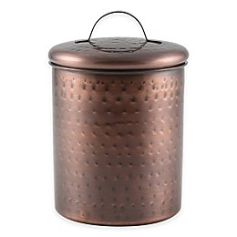 Thristystone® Hammered Copper Finish Canister