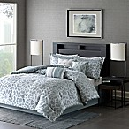 Madison Park 7-Piece Carlow King Comforter Set in Blue