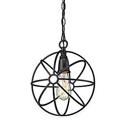 Elk Lighting Yardley 1-Light Globe Pendant Light in Oil-Rubbed Bronze