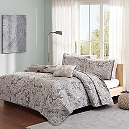 Madison Park Pure Ronan 4-Piece Coverlet Set