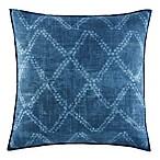 ED Ellen DeGeneres Azur Stripe European Pillow Sham in Indigo