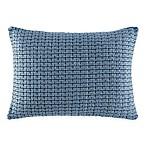 ED Ellen DeGeneres Azur Stripe Knit Breakfast Throw Pillow in Indigo