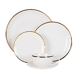 Olivia & Oliver™ Harper Organic Shape Gold Dinnerware Collection