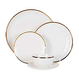 Olivia & Oliver® Harper Organic Shape Gold Dinnerware Collection