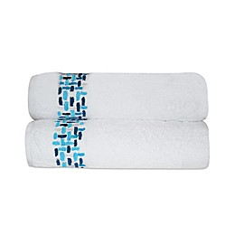 Ivone Embroidered Bath Towels