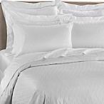 Frette At Home Porto Venere Queen Duvet Cover in White