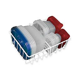 Small Adjustable Food Storage Organizer in White