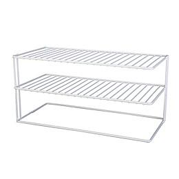 Large 2-Shelf Cabinet Organizer