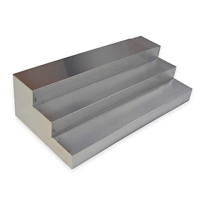 Alternate image 1 for 3-Tier Stainless Steel Expand-A-Drawer