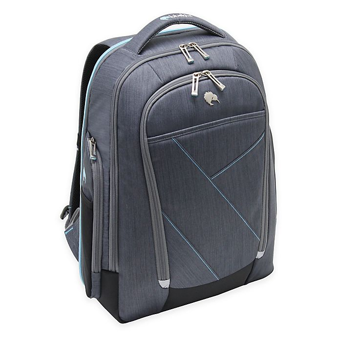 Alternate image 1 for Bluekiwi™ HAKA Universal Backpack in Grey/Blue