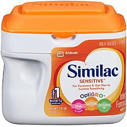 Similac Sensitive® 1.41 lb. Infant Formula Powder