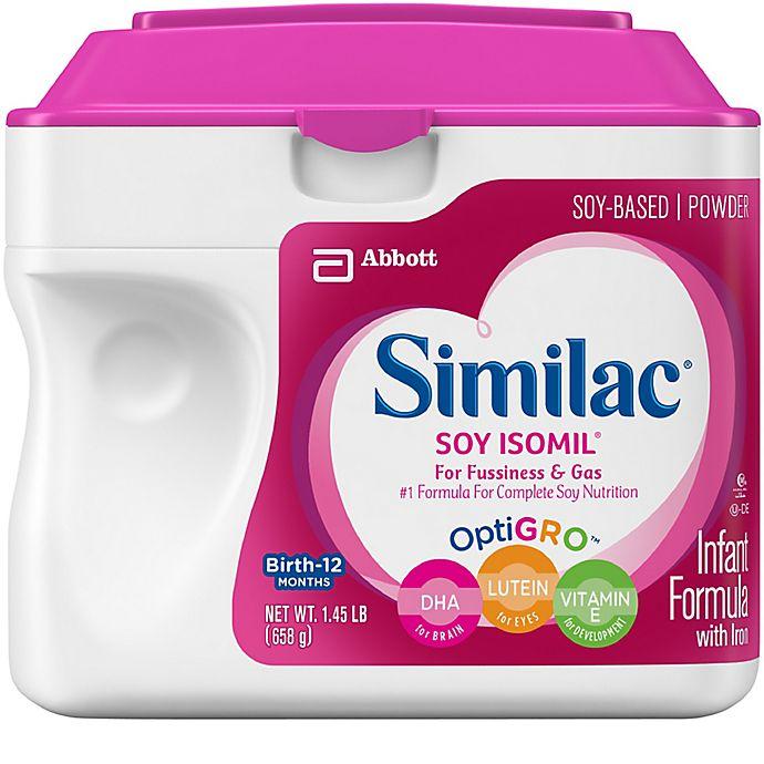Alternate image 1 for Similac® 1.45 lb. Soy Isomil® Formula