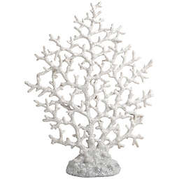Home Essentials & Beyond 13.3-Inch Coral Figurine in White