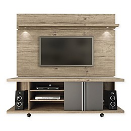 Manhattan Comfort Carnegie TV Stand and Park 1.8 Panel