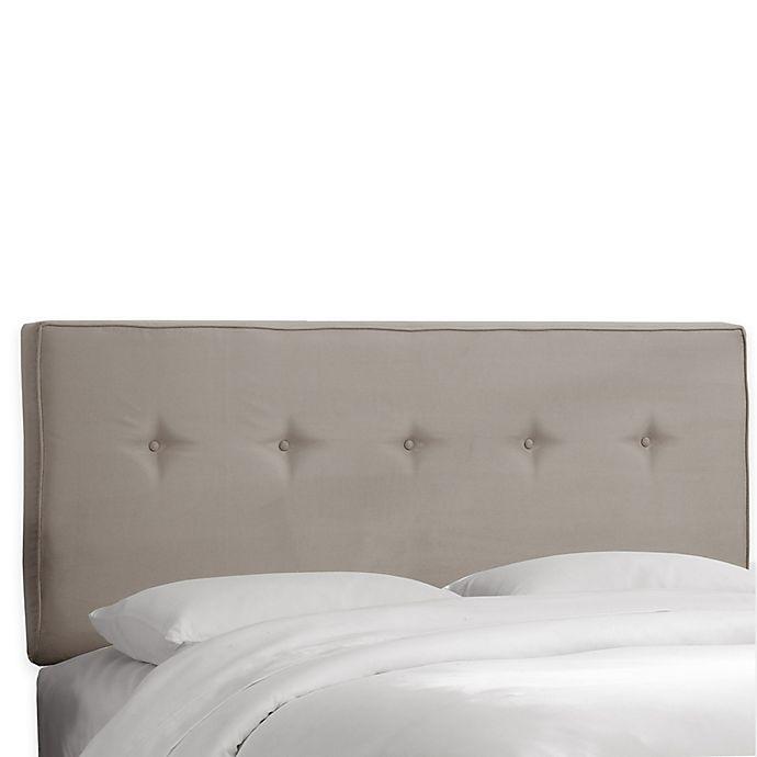 Alternate image 1 for Skyline Furniture Ashland Queen Headboard in Premier Platinum